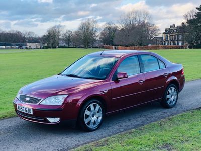 Ford Mondeo Saloon 1.8 SCi Ghia X 4dr