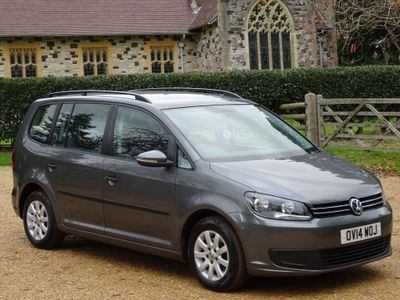 Volkswagen Touran MPV 1.6 TDI BlueMotion Tech S (s/s) 5dr