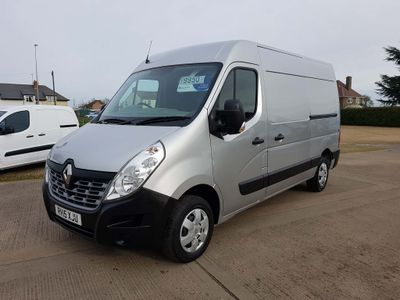 Renault Master Panel Van 2.3 dCi ENERGY 33 Business+ FWD MWB Medium Roof EU5 (s/s) 5dr