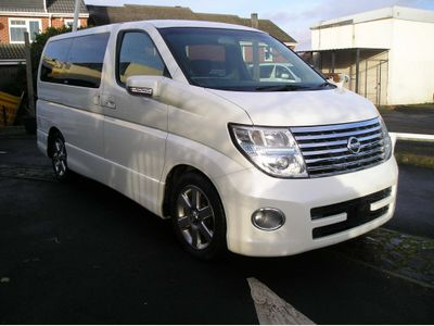 Nissan Elgrand MPV Currently been converted check back soon