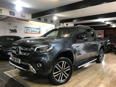 Mercedes-Benz X Class Pickup 2.3 X250d Power Double Cab Pickup Auto 4MATIC 4dr