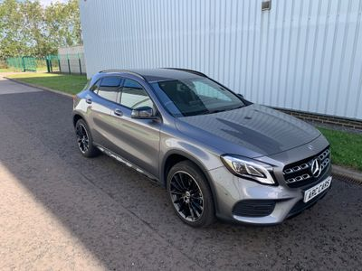 Mercedes-Benz GLA Class SUV 1.6 GLA200 AMG Line Edition 7G-DCT (s/s) 5dr