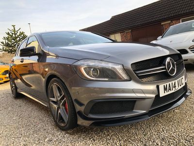 Mercedes-Benz A Class Hatchback 2.0 A45 AMG 4MATIC 5dr (Map Pilot)