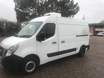 Nissan NV400 Temperature Controlled 2.3 L2 H1 Chiller Freezer Van