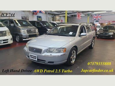 Volvo V70 Estate 2.5 T SE Geartronic AWD LEFT HAND DRIVE