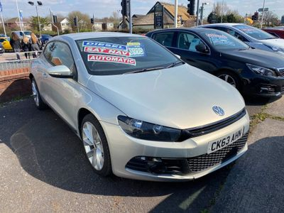 Volkswagen Scirocco Coupe 2.0 TDI BlueMotion Tech GT DSG 3dr