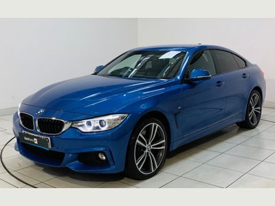 BMW 4 Series Gran Coupe Saloon 3.0 435d M Sport Gran Coupe Sport Auto xDrive (s/s) 5dr