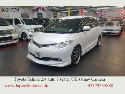 Toyota Estima MPV 2.4 Aeras G UK satnav camera auto doors
