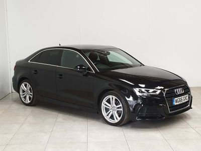 AUDI A3 Saloon 1.6 TDI S line S Tronic (s/s) 4dr