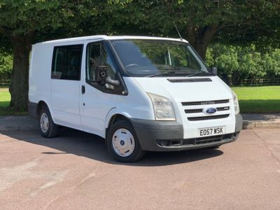 Ford Transit Other 2.2 TDCi 280 S Low Roof Double Cab-in-Van Duratorq 4dr (SWB)