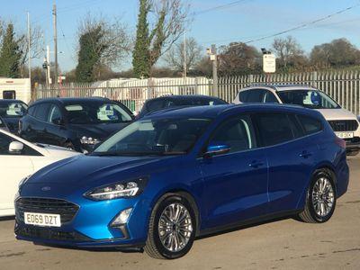 Ford Focus Estate 1.5T EcoBoost Titanium X Auto (s/s) 5dr
