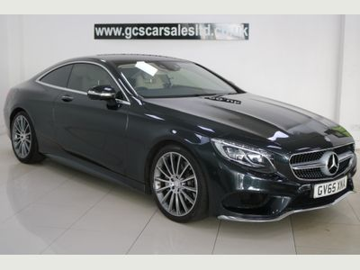 Mercedes-Benz S Class Coupe 4.7 S500 V8 AMG Line (Premium) G-Tronic (s/s) 2dr