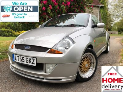 Ford Streetka Convertible 1.6 Red 2dr
