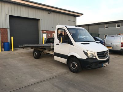 Mercedes-Benz Sprinter Car Derived Van 3.5T CAR TRANSPORTER