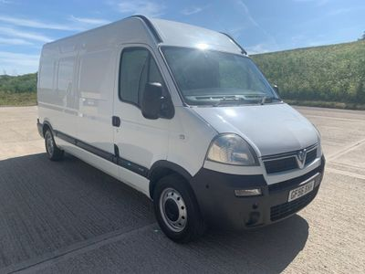 Vauxhall Movano Panel Van 2.5 CDTI 16v 3500 High Roof Van 4dr