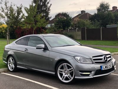 Mercedes-Benz C Class Coupe 1.8 C250 BlueEFFICIENCY AMG Sport 2dr