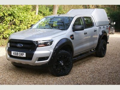 Ford Ranger Pickup 2.2 TDCi XL Double Cab Pickup 4WD (s/s) 4dr (AC)