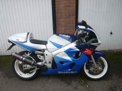 Suzuki GSXR600 Super Sports V