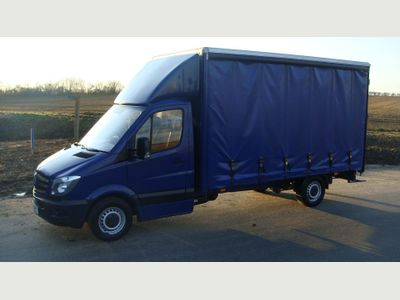Mercedes-Benz Sprinter Curtain Side 313 130BHP LWB CURTAINSIDER NEW SHAPE