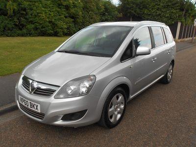 Vauxhall Zafira MPV 1.8 i VVT 16v Energy 5dr