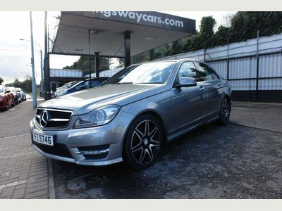 Mercedes-Benz C Class Saloon 1.6 C180 BlueEFFICIENCY AMG Sport Plus 7G-Tronic Plus 4dr (Map Pilot)
