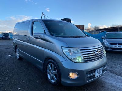 Nissan Elgrand MPV HIGHWAY STAR 2.5 V6