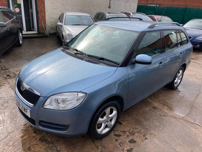 SKODA Fabia Estate 1.4 TDI PD 2 5dr