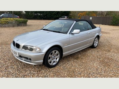 BMW 3 Series Convertible 2.0 318Ci 2dr