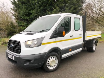 Ford Transit Panel Van 2.0 350 EcoBlue 1-Way Double Cab Tipper RWD L3 EU6 4dr (1-Stop)