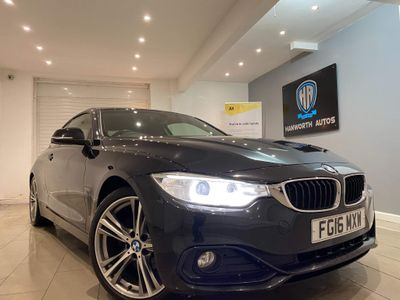 BMW 4 Series Coupe 2.0 420d Sport Auto 2dr