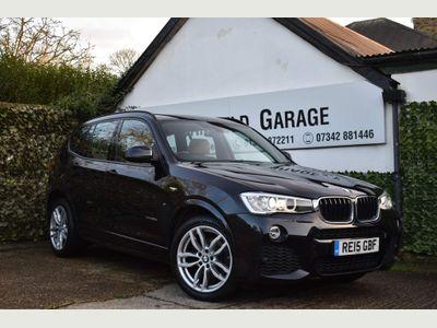 BMW X3 SUV 2.0 20d M Sport xDrive 5dr
