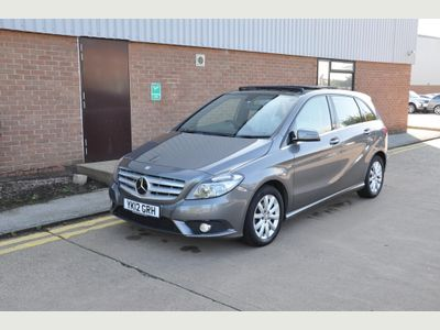 Mercedes-Benz B Class Hatchback 1.8 B180 CDI BlueEFFICIENCY SE 7G-DCT (s/s) 5dr