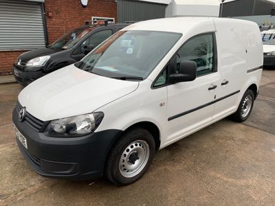 Volkswagen Caddy Panel Van 1.6 TDi BlueMotion Tech C20 Van (AIRCON)