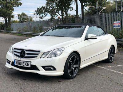 Mercedes-Benz E Class Convertible 1.8 E250 BlueEFFICIENCY Sport Edition 125 Cabriolet 7G-Tronic Plus (s/s) 2dr
