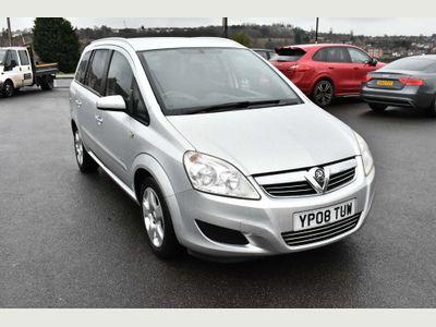Vauxhall Zafira MPV 1.6 i 16v Breeze 5dr