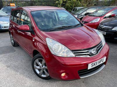 Nissan Note Hatchback 1.6 16V n-tec 5dr
