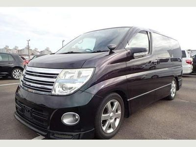 Nissan Elgrand MPV MNE51 Highway Star 4WD leather Recliner