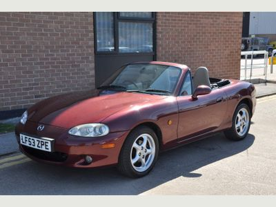 Mazda MX-5 Convertible 1.8 Indiana Limited Edition 2dr