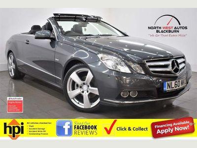 Mercedes-Benz E Class Convertible 2.1 E220 CDI BlueEFFICIENCY SE Cabriolet 2dr