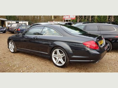 Mercedes-Benz CL Coupe 4.7 CL500 BlueEFFICIENCY 7G-Tronic Plus (s/s) 2dr