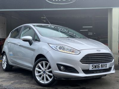 Ford Fiesta Hatchback 1.6 Titanium Powershift 5dr