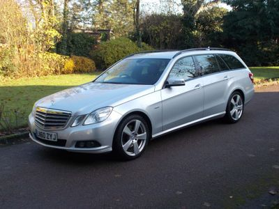 Mercedes-Benz E Class Estate 2.1 E250 CDI BlueEFFICIENCY SE Auto 5dr