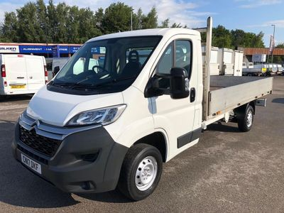 CITROEN RELAY Dropside 2.0 BlueHDi 35 Enterprise L3 Dropside Truck 2dr (EU6)