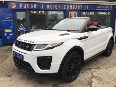 Land Rover Range Rover Evoque Convertible 2.0 Si4 HSE Dynamic Auto 4WD (s/s) 2dr