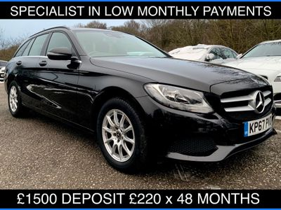 Mercedes-Benz C Class Estate 2.1 C220d SE G-Tronic+ (s/s) 5dr