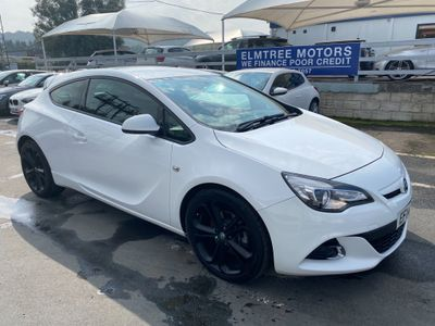 Vauxhall Astra GTC Coupe 1.4T Limited Edition (s/s) 3dr