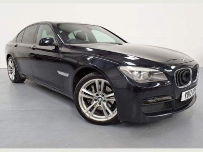 BMW 7 Series Saloon 3.0 730d M Sport 4dr