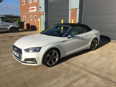 Audi S5 Convertible 3.0 TFSI V6 Cabriolet 2dr Petrol Tiptronic quattro (s/s) (354 ps)