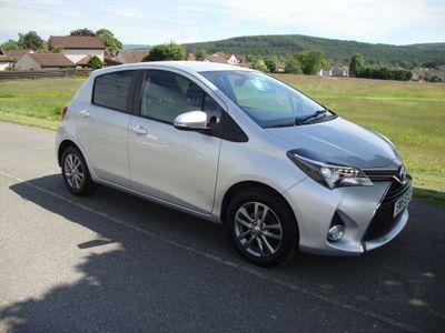 Toyota Yaris Hatchback 1.33 Dual VVT-i Icon Multidrive S 5dr EU5