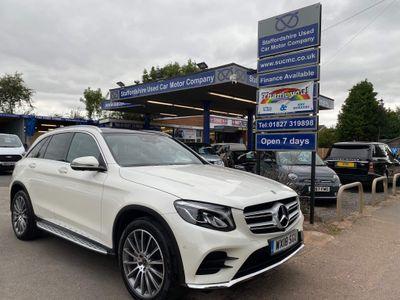 Mercedes-Benz GLC Class SUV 2.1 GLC250d AMG Line (Premium Plus) G-Tronic 4MATIC (s/s) 5dr